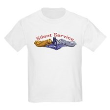 Silent Service Gold & Silver Dolphins T-Shirt
