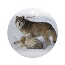 Domination Wolves Ornament (Round)