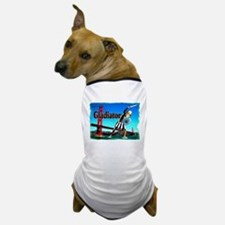Gladiator at Golden Gate Brid Dog T-Shirt