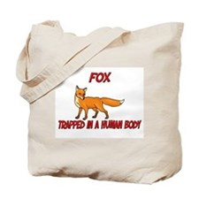 Fox trapped in a human body Tote Bag
