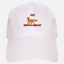 Fox trapped in a human body Baseball Baseball Cap