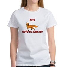 Fox trapped in a human body Tee