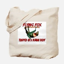 Flying Fox trapped in a human body Tote Bag