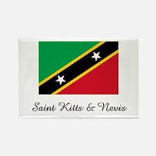Saint Kitts & Nevis Flag Rectangle Magnet
