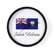 Saint Helena Flag Wall Clock