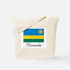 Rwanda Flag Tote Bag