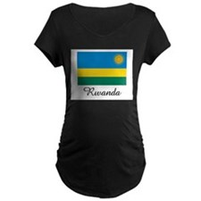 Rwanda Flag T-Shirt