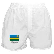 Rwanda Flag Boxer Shorts