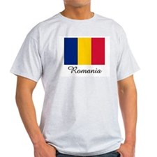 Romania Flag T-Shirt