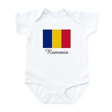 Romania Flag Infant Bodysuit