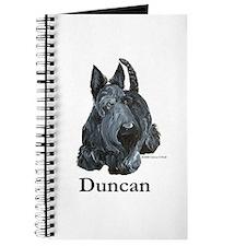 """Scottish Terrier """"Duncan"""" Journal"""