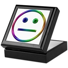 Rainbow Unsmily Keepsake Box