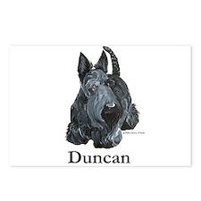 "Scottish Terrier ""Duncan"" Postcards (Package of 8)"