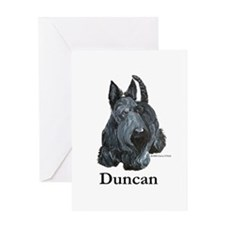 "Scottish Terrier ""Duncan"" Greeting Card"