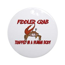 Fiddler Crab trapped in a human body Ornament (Rou