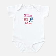 Ellen - #1 Mom Infant Bodysuit