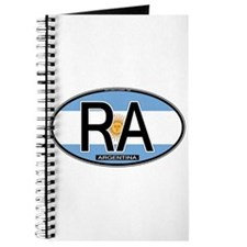 Argentina Oval Colors Journal