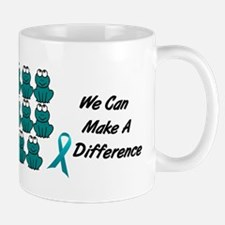 Teal Frogs 1 Mug