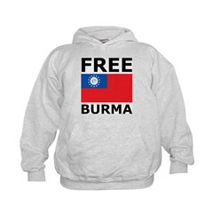 Free Burma Hoodie