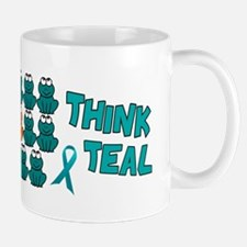 Teal Frogs 2 Mug
