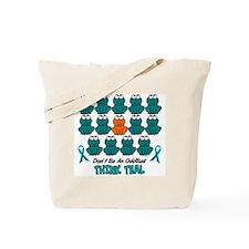Teal Frogs 2 Tote Bag