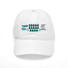 Teal Frogs 3 Cap