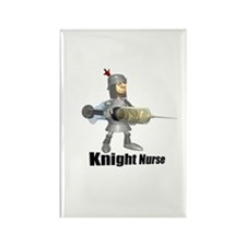 Knight Nurse! Rectangle Magnet