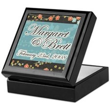 """Margaret & Brett"" Wedding Keepsake Box"