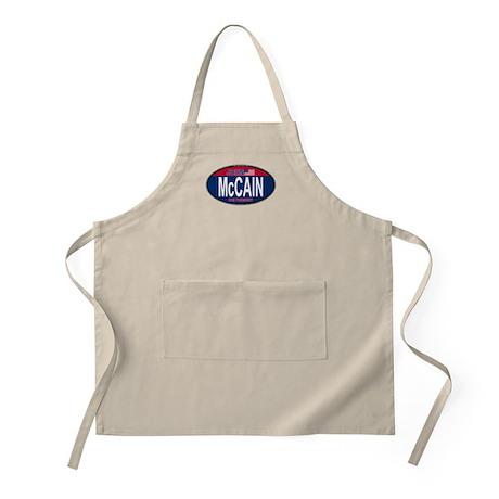 McCain RW&B Oval BBQ Apron