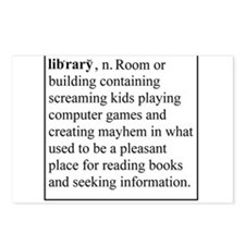 Library Info Postcards (Package of 8)