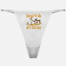 Cheers on 80th Classic Thong