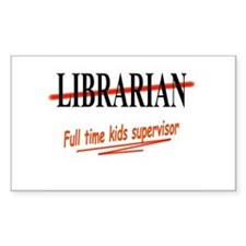 Librarians selection Rectangle Decal