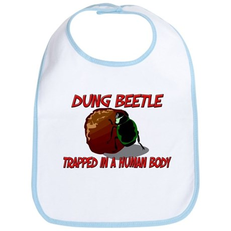 Dung Beetle trapped in a human body Bib