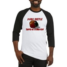 Dung Beetle trapped in a human body Baseball Jerse