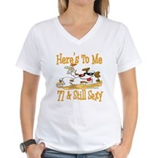 Cheers on 77th Shirt