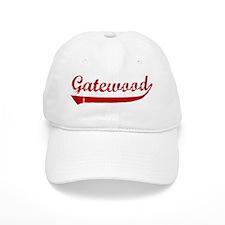 Gatewood (red vintage) Baseball Cap