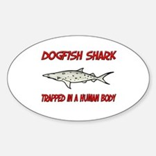 Dogfish Shark trapped in a human body Decal