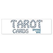 TAROT Cards Bumper Bumper Sticker