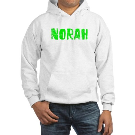 Norah Faded (Green) Hooded Sweatshirt
