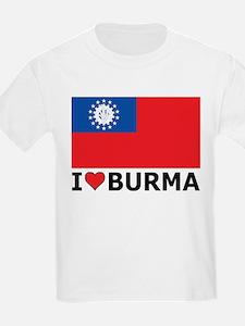 I Love Burma T-Shirt