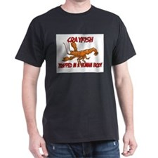 Crayfish trapped in a human body T-Shirt