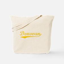 Vintage Donovan (Orange) Tote Bag