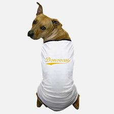 Vintage Donovan (Orange) Dog T-Shirt