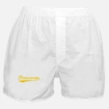 Vintage Donovan (Orange) Boxer Shorts