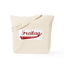 Freitag (red vintage) Tote Bag
