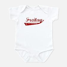 Freitag (red vintage) Infant Bodysuit