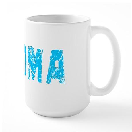 Paloma Faded (Blue) Large Mug