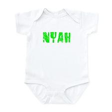Nyah Faded (Green) Infant Bodysuit