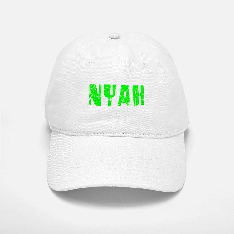 Nyah Faded (Green) Baseball Baseball Cap