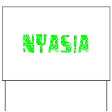 Nyasia Faded (Green) Yard Sign
